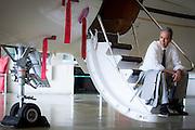 Belo Horizonte_MG, Brasil.<br /> <br /> Presidente da Lider Aviacao, Eduardo Vaz. <br /> <br /> Eduardo Vaz president of Lider Aviation.<br /> <br /> Foto: ALEXANDRE MOTA / NITRO