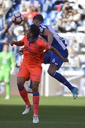 May 20, 2017 - Albentosa and Hernan.  LA CORUNA SPAIN. MAY 20, 2017 - La Liga Santander match day 38 game. Deportivo La Coruna defeated Las Palmas with goals scored by Florin And one (4th and 28th minute) and Carles Gil (39th minute). Riazor Stadium, Spain. Photo by Monica Arcay Carro | PHOTO MEDIA EXPRESS (Credit Image: © Monica Arcay Carro/VW Pics via ZUMA Wire/ZUMAPRESS.com)