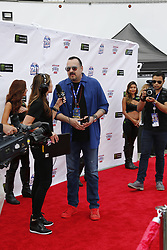FONTANA, CA - MARCH 26  Pepe Aguilar walks the red carpet at NASCAR's Auto Club 400 drivers meeting prior to the race. 2017 march 26.  Byline, credit, TV usage, web usage or link back must read SILVEXPHOTO.COM. Failure to byline correctly will incur double the agreed fee. Tel: +1 714 504 6870.