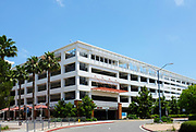 Eastside Parking Structure on Campus at California State University Fullerton