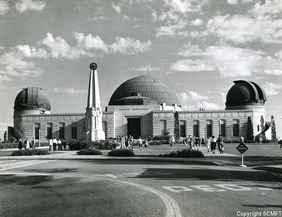 1953 Griffith Park Observatory