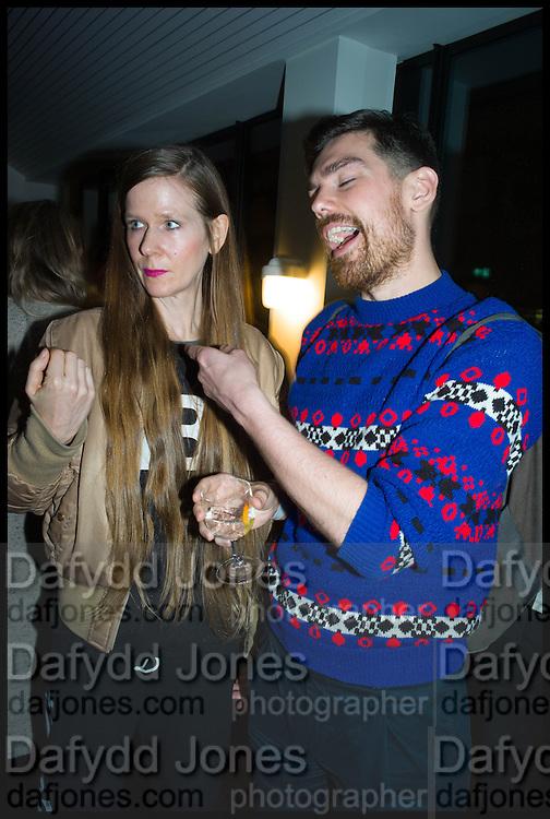 SUSANNE OBERBECK; PAUL CLINTON, Frieze party, ACE hotel Shoreditch. London. 18 October 2014