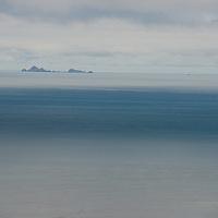 California's Farallon Islands sit in the Pacific off the coast of San Francisco.