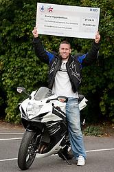 Lottery Winner David Higginbottom who won £174,665 ..7th September2011 Image © Paul David Drabble