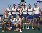 Zagreb, CROATIA.  2000 FISA World Rowing Junior & Non-Olympic Seniors Championships   [Mandatory Credit Peter Spurrier/Intersport Images]Zagreb, CROATIA.  GBR JM8+. Bow,  SMITH  .Ben, 2. TUPPEN Nicholas, 3. ADAMS John, 4. MILLAIS Edward, 5. ZAJDLER Tom, 6. POOLE William, .7. PLEYDELL-BOUVERIE, stroke BRISTOW Richard, cox, HAYES Syd, 2000 FISA World Rowing Junior & Non-Olympic Seniors Championships   [Mandatory Credit Peter Spurrier/Intersport Images]