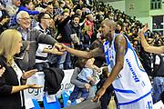 Tony easley<br /> Banco di Sardegna Dinamo Sassari - SAIE3 Virtus Bologna<br /> Legabasket Serie A Beko 2012-2013<br /> Sassari, 30/12/2012<br /> Foto L.Canu / Ciamillo-Castoria