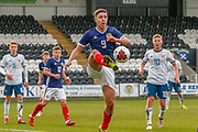 Andrew Winter (Hamilton Academical) during the U17 European Championships match between Scotland and Russia at Simple Digital Arena, Paisley, Scotland on 23 March 2019.