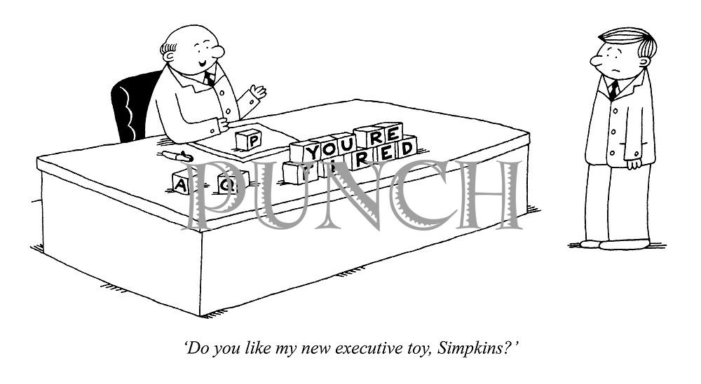'Do you like my new executive toy, Simpkins?'