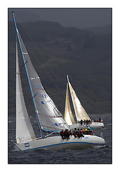 Brewin Dolphin Scottish Series 2011, Tarbert Loch Fyne - Yachting - Day 3 of the 4 day series. Windier!..GBR3724 ,Hops ,Bolton/Robertson ,CCC ,Davidson 36.