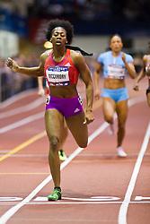 Millrose Games indoor track and field: Francena McCorory, women's 400 meters, winner, adidas