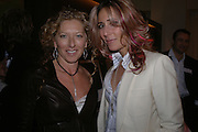 Kelly Hoppen and Tara Bernard, Launch of the House and Garden directory of the 100 Leading Interior Designers. Design Club, 3rd Floor. South Dome, Chelsea Harbour. London. 13 March 2006. ONE TIME USE ONLY - DO NOT ARCHIVE  © Copyright Photograph by Dafydd Jones 66 Stockwell Park Rd. London SW9 0DA Tel 020 7733 0108 www.dafjones.com