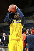 CHARLOTTESVILLE, VA- NOVEMBER 29: Tim Hardaway Jr. #10 of the Michigan Wolverines shoots the ball before the game against the Virginia Cavaliers on November 29, 2011 at the John Paul Jones Arena in Charlottesville, Virginia. Virginia defeated Michigan 70-58. (Photo by Andrew Shurtleff/Getty Images) *** Local Caption *** Tim Hardaway Jr.