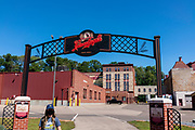 Photograph from a tour of the Leinenkugel Brewery, Chippewa Falls, Wisconsin, USA on a beautiful morning.