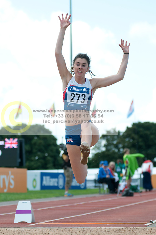 BREEN Olivia, 2014 IPC European Athletics Championships, Swansea, Wales, United Kingdom