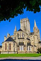 France, Manche (50), Coutances, cathédrale gothique Notre-Dame de Coutances du XIIIe siècle // France, Normandy, Manche department, Coutances, Notre-Dame of Coutances cathedral from 13 century