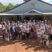 Mahogany Creek Hall upgrade opening