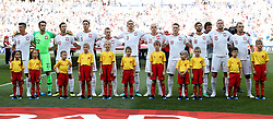 VOLGOGRAD, June 28, 2018  Players of Poland are seen prior to the 2018 FIFA World Cup Group H match between Japan and Poland in Volgograd, Russia, June 28, 2018. Poland won 1-0. Japan advanced to the round of 16. (Credit Image: © Yang Lei/Xinhua via ZUMA Wire)