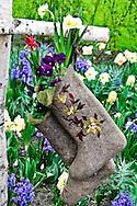 Garden Decor and art at the Keukenhof Gardens, Lisse, The Netherlands