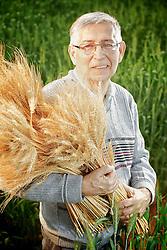 Cantídio Nicolau Alves de Souza, pesquisador da Embrapa, desenvolveu germoplasma e cultivares de milho com menor custo de produção e com adequada aptidão de uso. FOTO: Jefferson Bernardes/Preview.com