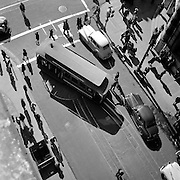 Cable Car turnaround, Powell and Market Sts, San Francisco