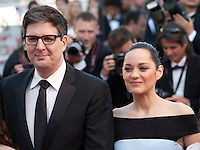 Director Mark Osborne and Actress Marion Cotillard at the gala screening for the film The Little Prince – Le Petit Prince at the 68th Cannes Film Festival, Friday 22nd May 2015, Cannes, France.
