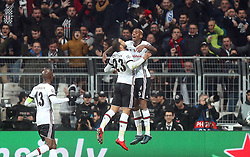 November 21, 2017 - Besiktas' Anderson Talisca and Cenk Tosun celebrate their goal with his teammates during Besiktas - Porto UEFA Champions Leaguematch in Vodafone Arena, Istanbul, Turkey, November 21, 2017. (Credit Image: © Tolga Adanali/Depo Photos via ZUMA Wire)