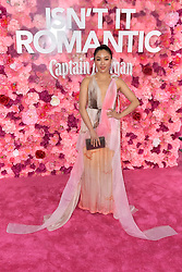 February 11, 2019 - Los Angeles, Kalifornien, USA - Constance Wu bei der Weltpremiere des Kinofilms 'Isn't It Romantic' im Theatre at Ace Hotel. Los Angeles, 11.02.2019 (Credit Image: © Future-Image via ZUMA Press)