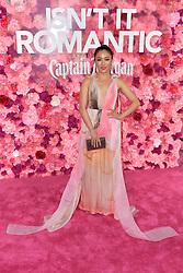 February 11, 2019 - Los Angeles, Kalifornien, USA - Constance Wu bei der Weltpremiere des Kinofilms 'Isn't It Romantic' im Theatre at Ace Hotel. Los Angeles, 11.02.2019 (Credit Image: © Future-Image via ZUMA Press)