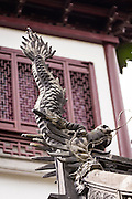 Imperial roof charm statues in Yu Yuan Gardens Shanghai, China