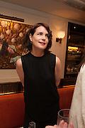 ELIZABETH MCGOVERN, Vanity Fair Lunch hosted by Graydon Carter. 34 Grosvenor Sq. London. 14 May 2013