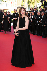 Elsa Zylberstein arriving at Les Fantomes d'Ismael screening and opening ceremony held at the Palais Des Festivals in Cannes, France on May 17, 2017, as part of the 70th Cannes Film Festival. Photo by David Boyer/ABACAPRESS.COM