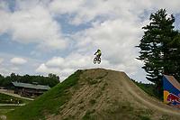 Highland Mountain Bike Park Northfields, NH.  Karen Bobotas for the Laconia Daily Sun