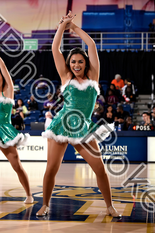 2016 December 16 - FIU Golden Dazzlers performing at FIU Arena, Miami, Florida. (Photo by: Alex J. Hernandez / photobokeh.com) This image is copyright by PhotoBokeh.com and may not be reproduced or retransmitted without express written consent of PhotoBokeh.com. ©2016 PhotoBokeh.com - All Rights Reserved