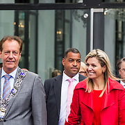 NLD/Eindhoven/20140623 - Vertrek Koningin Maxima bij bijeenkomst Kracht on Tour<br /> <br /> Queen Maxima attends the Power on Tour meeting in Eindhoven the Netherlands