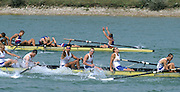Zagreb, CROATIA.  2000 FISA World Rowing Junior & Non-Olympic Seniors Championships   [Mandatory Credit Peter Spurrier/Intersport Images]Zagreb, CROATIA.  GBR JM8+. Bow,  SMITH, Ben, 2. TUPPEN Nicholas, 3. ADAMS John, 4. MILLAIS Edward, 5. ZAJDLER Tom, 6. POOLE William, .7. PLEYDELL-BOUVERIE, stroke BRISTOW Richard, cox, HAYES Syd, 2000 FISA World Rowing Junior & Non-Olympic Seniors Championships   [Mandatory Credit Peter Spurrier/Intersport Images]