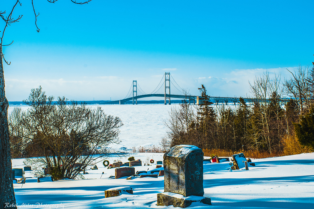 A View From Lakeside Cemetery