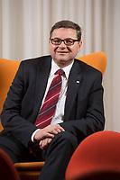 23 OCT 2014, BERLIN/GERMANY:<br /> Gerd Deimel, Vice President und Leiter Global Logistics Management LANXESS Deutschland GmbH, Hotel Intercontinental<br /> IMAGE: 20141023-02-033