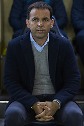 January 7, 2018 - Vila-Real, Castellon, Spain - Javier Calleja head coach of Villarreal CF looks on prior to  the La Liga game between Villarreal CF and Deportivo La Coruna at Estadio de la Ceramica on January 7, 2018 in Vila-real, Spain  (Credit Image: © David Aliaga/NurPhoto via ZUMA Press)