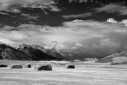 Walton Ranch, Grand Tetons, Jackson Hole, Wyoming
