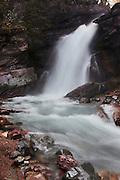 Barring Falls, Glacier National Park