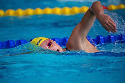 August 2, 2018 - Glasgow, UNITED KINGDOM - 180802 Sara Junevik of Sweden at a swimming practice session during the European Championships on August 2, 2018 in Glasgow..Photo: Joel Marklund / BILDBYRN / kod JM / 87764 (Credit Image: © Joel Marklund/Bildbyran via ZUMA Press)