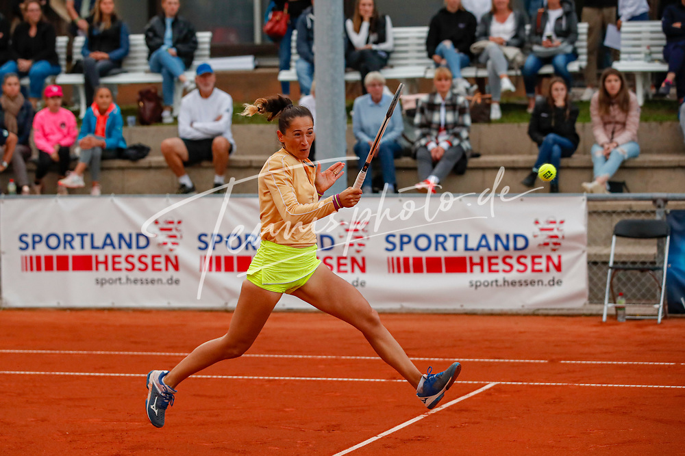 Alexandra Ignatik (ROU) - WTO Wiesbaden Tennis Open - ITF World Tennis Tour 80K, 24.9.2021, Wiesbaden (T2 Sport Health Club), Deutschland, Photo: Mathias Schulz