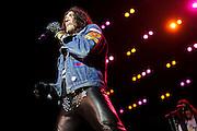Photos of hard rock band Ratt performing on September 18, 2010 at Verizon Wireless Amphitheater