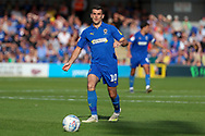 AFC Wimbledon attacker Adam Roscrow (10) passing the ball during the EFL Sky Bet League 1 match between AFC Wimbledon and Shrewsbury Town at the Cherry Red Records Stadium, Kingston, England on 14 September 2019.