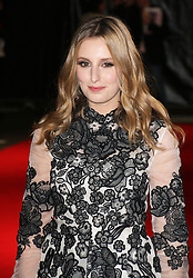 © Licensed to London News Pictures. 11/10/2014, UK. Laura Carmichael, Madame Bovary - BFI London Film Festival official screening, Odeon West End Leicester Square, London UK, 11 October 2014. Photo credit : Richard Goldschmidt/Piqtured/LNP