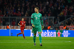 November 6, 2019, Munich, Germany: Manuel Neuer from Bayern seen in action during the UEFA Champions League group B match between Bayern and Olympiacos at Allianz Arena in Munich. (Credit Image: © Bruno De Carvalho/SOPA Images via ZUMA Wire)