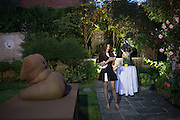 JUDE HESS, Dinner to celebrate the 10th Anniversary of Contemporary Istanbul Hosted at the Residence of Freda & Izak Uziyel, London. 23 June 2015