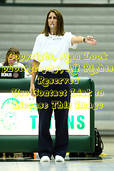 22 September 2015:  Official Sandy Nord during an NCAA womens division 3 Volleyball match between the Augustana Vikings and the Illinois Wesleyan Titans in Shirk Center, Bloomington IL