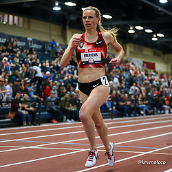 2020 USATF Indoor Championship<br /> Albuquerque, NM 2020-02-14<br /> photo credit: © 2020 Kevin Morris<br /> womens 3000m,