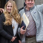 NLD/Amsterdam/20180203 - 80ste Verjaardag Pr. Beatrix, Koning Willem Alexander en Prinses Amalia